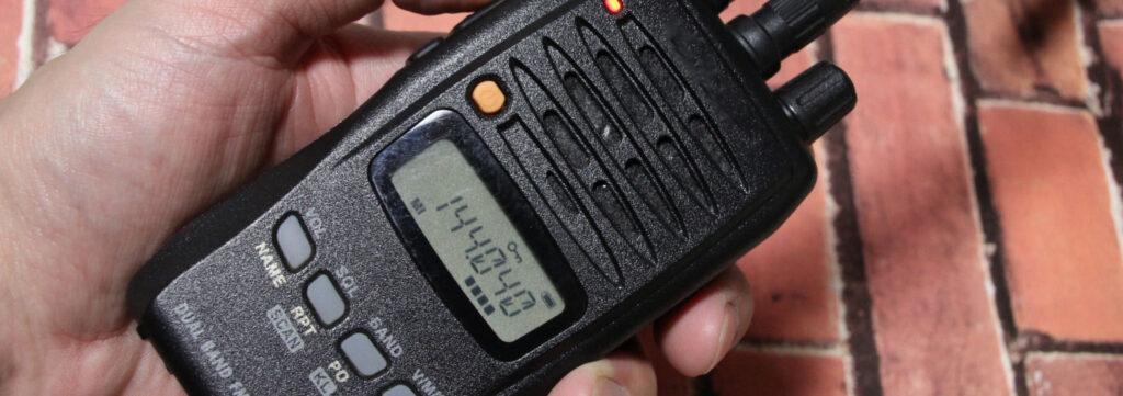盗聴電波の受信機